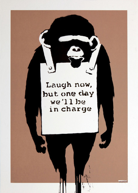 Banksy, 'Laugh Now (Unsigned)', 2004, Prescription Art