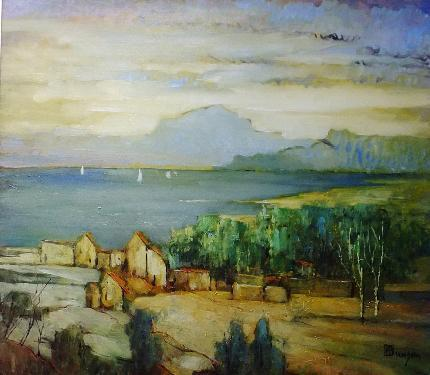 , 'Golden Landscape,' 1935, Lawrence Fine Art