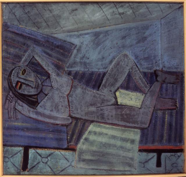 , 'Le Repos du Modèle ,' 1941, Museo Reina Sofía