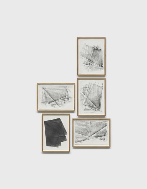 , 'untitled (série duplos),' 2017, Galeria Raquel Arnaud