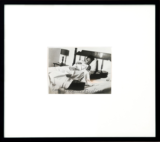 , 'Photograph with J in the bed (con inquietudine),' 1969-1970, Kadel Willborn