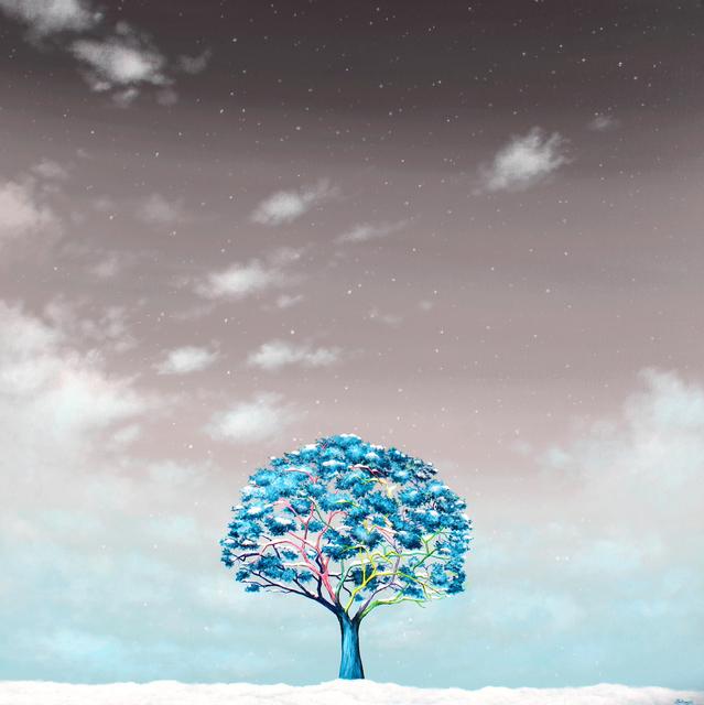 Alexandra Battezzati, 'L'Arbre et la neige', 2019, Galerie Duret