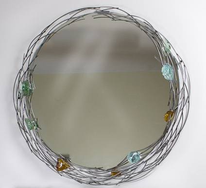 , 'Glass Rock Mirror (available on commission),' , Zenith Gallery