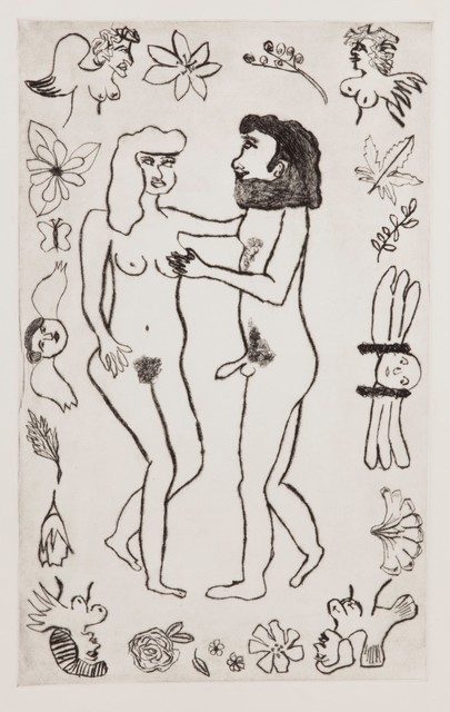 , 'Adam and Eve,' 2014, Childs Gallery