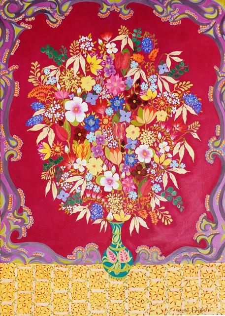 , 'Russian Flowers,' 2014, Rebecca Hossack Art Gallery