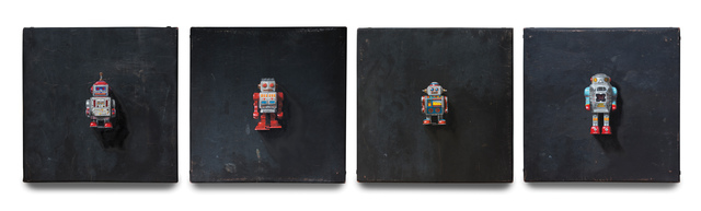 , 'Robot Grid,' , Haley Fine Art
