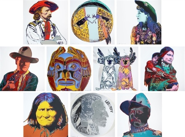 , 'Cowboys and Indians ,' 1986, Maddox Gallery
