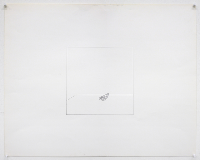 , 'Untitled (Fictional Reality: Piece of Lemon),' 1975, Mai 36 Galerie