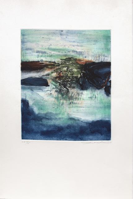 Zao Wou-Ki 趙無極, 'Untitled', 1979, Print, Etching with aquatint, Marlborough