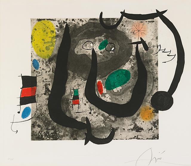 Joan Miró, 'Les Armes Du Sommeil', 1970, Rago/Wright