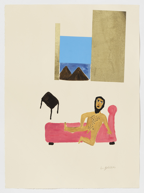 , 'Lounging Moses ,' 2016, Childs Gallery
