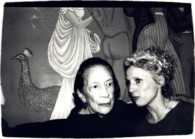 Andy Warhol, 'Andy Warhol, Photograph of Diana Vreeland and Tinkerbelle, 1970s', 1970s, Hedges Projects