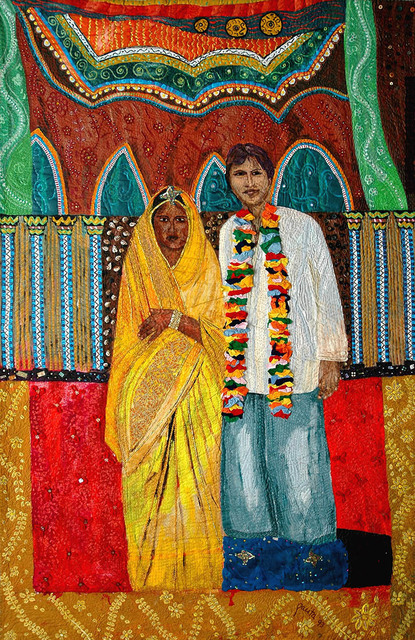, 'Mixed marriage: Mike and Jeeva,' 1993, Pacita Abad Art Estate