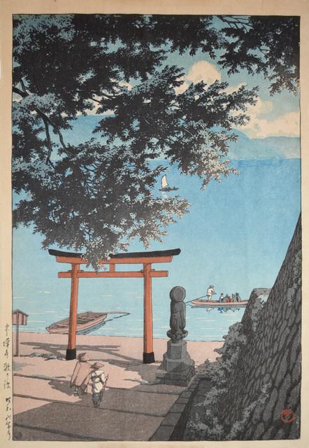 , 'Utagahama, Chuzenji,' 1931, Ronin Gallery