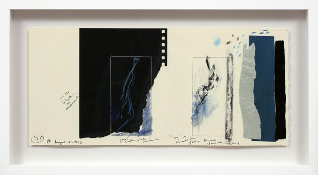 , 'Étude II (Silk & Courants telluriques),' 2017, Newzones