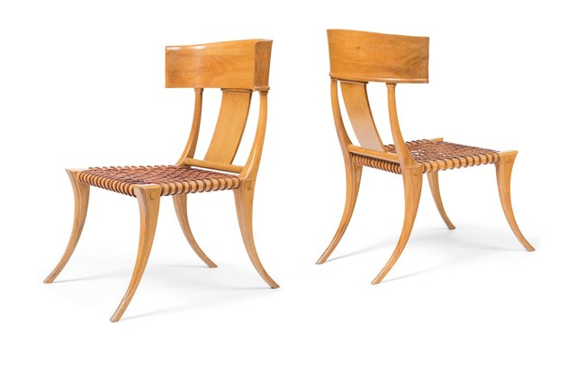Terence Harold Robsjohn-Gibbings, 'Pair of Klismos Chairs', circa 1960, Heritage Auctions