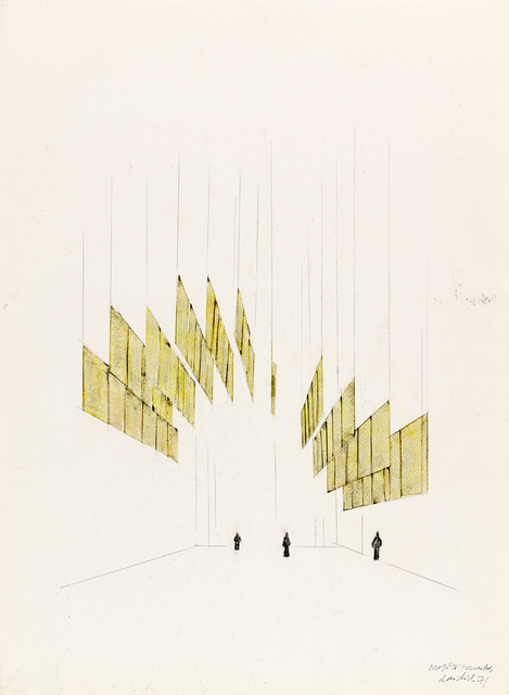 , 'Columbus Tape Project: Drawing,' 1971, Henrique Faria Fine Art