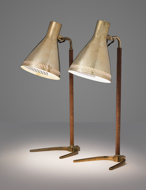Paavo Tynell, 'A pair of desk lamps, model no. 9224', designed circa 1954, Christie's
