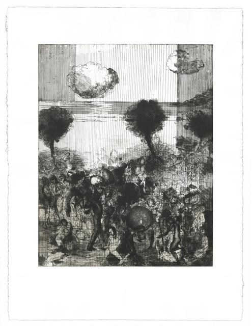 Diarmuid Delargy, 'Horse of Mirrors', Print, Intaglio, Stoney Road Press