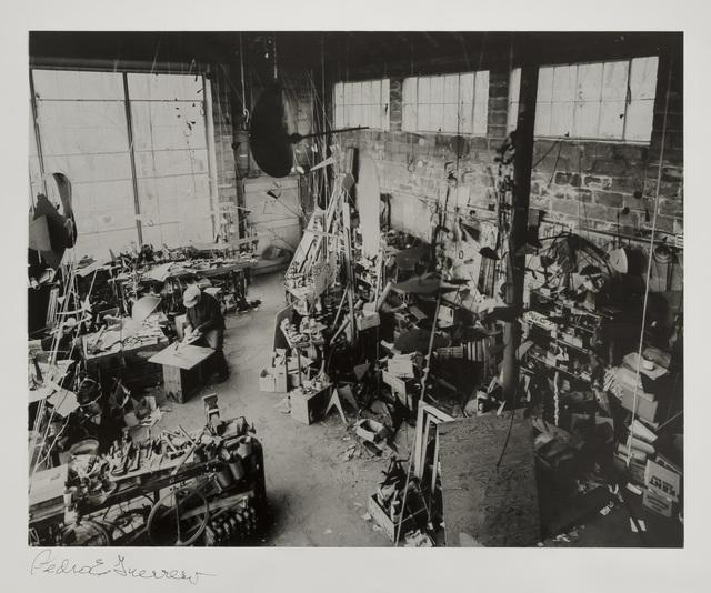Pedro E. Guerrero, 'Calder Studio Interior, Roxbury, CT', 1964, Edward Cella Art and Architecture