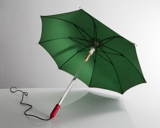 , 'Illuminated Wearable Umbrella Sculpture,' 1985, R & Company