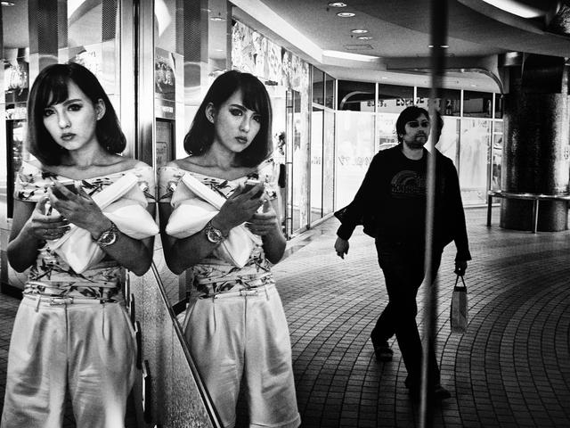 , 'Mirror, Shibuya, Tokyo,' 2014, Huxley-Parlour