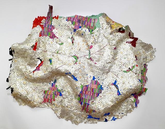 El Anatsui, 'Disclosures', 2017, Galerie RX