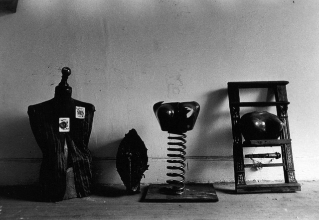 , 'Untitled. Liliana Maresca with her artworks. Objects.,' 1983, Rolf Art
