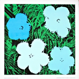 Flowers (Blue and White)