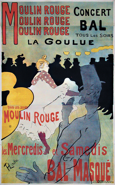 , 'Moulin Rouge,' 1891, Omnibus Gallery