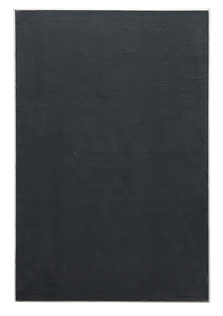 , 'Schwarzbild (black painting),' 1957-1959, Dierking