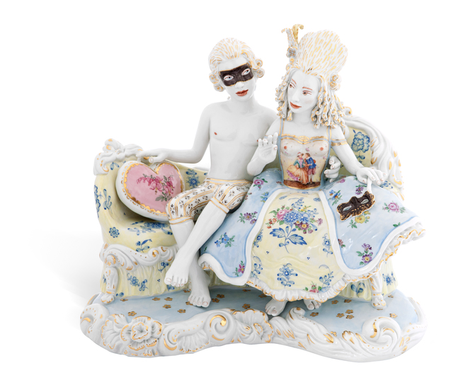 , 'Masquerade [Courtesy MEISSEN COUTURE® Art Collection.],' 2015, Cynthia Corbett Gallery