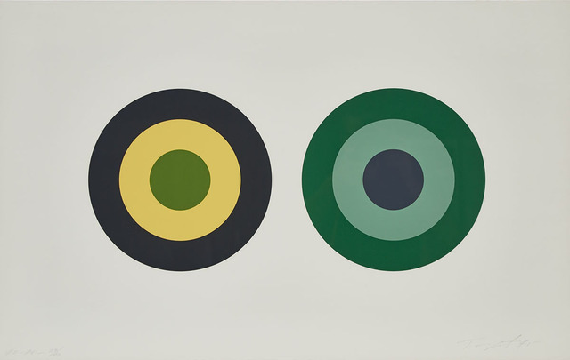 "Claude Tousignant, 'Sans Titre, #2 (One Plate From The ""Sans Titre"" Folio Of 6)', 1975, Waddington's"