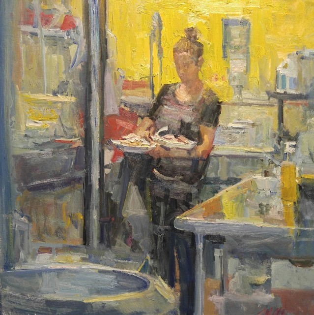 , 'Yellow Kitchen,' 2016, Gallery 1261