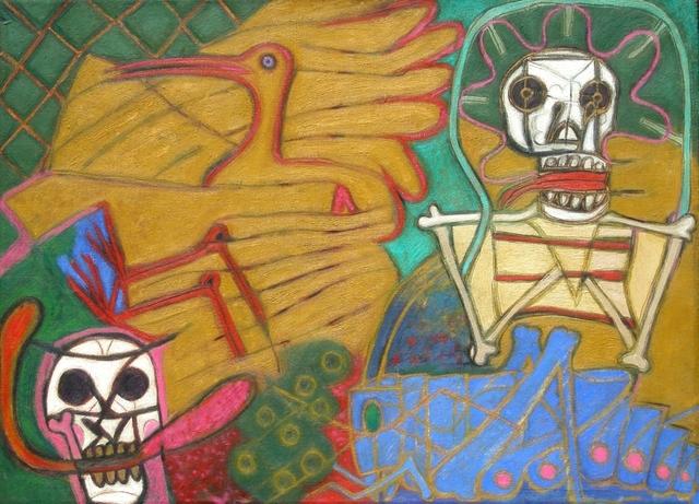 Luis Zarate, 'SIN TITULO (SALTANDO LA CUERDA)', 1996, Galería Quetzalli