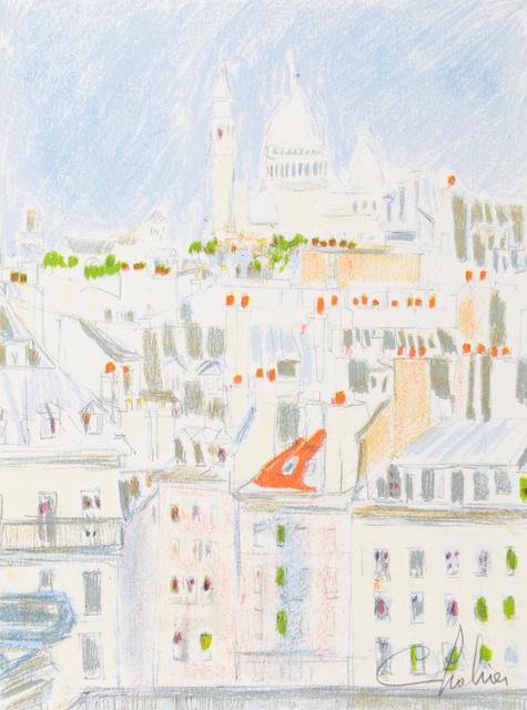 Nathalie Chabrier, 'Le Coeur de Paris', 1982, Art Lithographies
