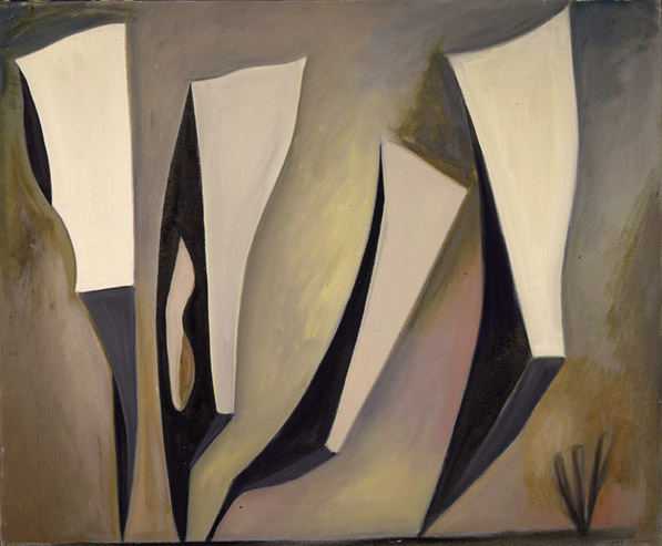 , 'Untitled, Magical Forms,' 1947, Louis Stern Fine Arts