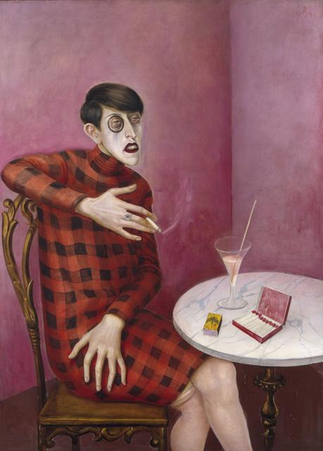 Otto Dix, 'Portrait of the journalist Sylvia von Harden', 1926, ARS/Art Resource