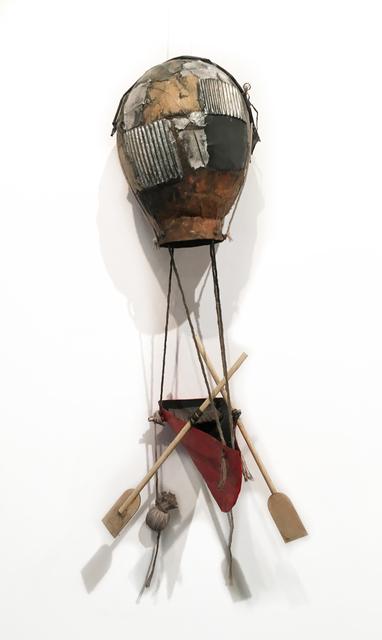 , 'Balloon Boat (red bottom),' 2020, BoxHeart