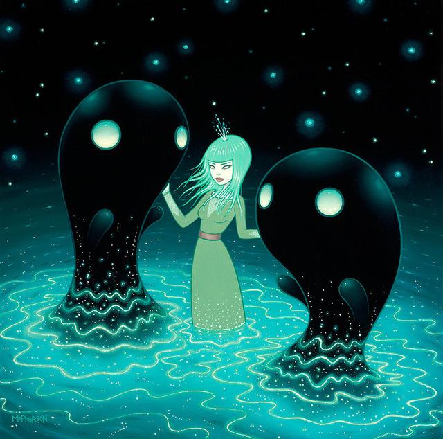 , 'The Water Nebula,' 2013, Jonathan LeVine Projects