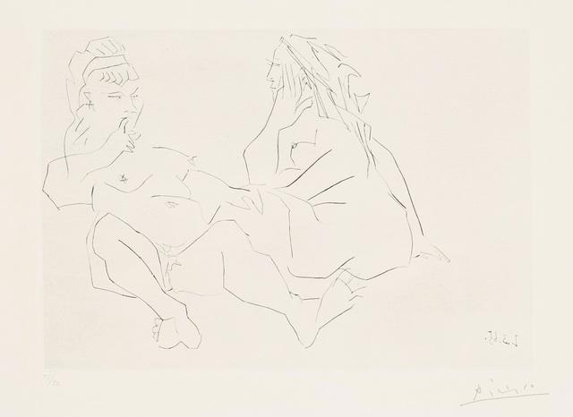 Pablo Picasso, 'Deux femmes. III (Two Women III)', 1965, Phillips