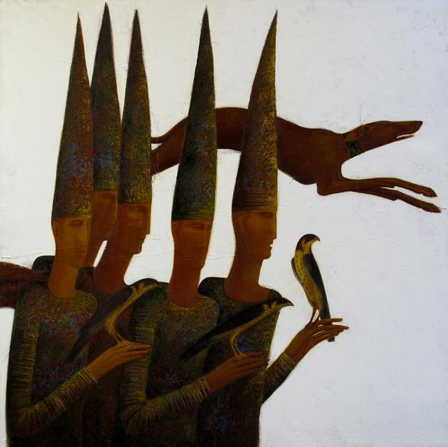 , 'Falconers,' 2012, Andakulova Gallery