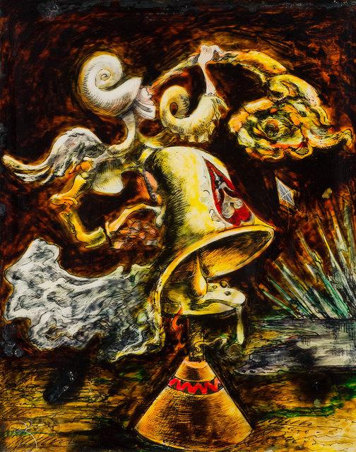 , 'Automne trompette de fourrure (Le carillon muet) aka Trumpet of Fur & Kite,' 1938, Weinstein Gallery