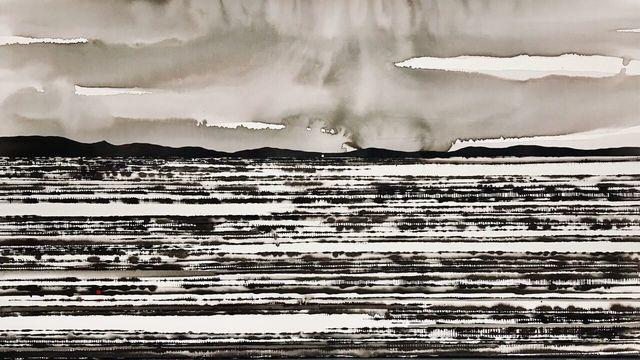 , 'Rain and Desert Field, Central Australia,' 2018, Art Atrium