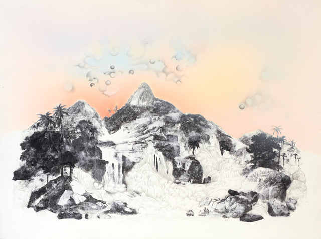 , 'And the Falls Unfurled, Overlooked by the Ancient Mountain ,' 2016, The Contemporary London