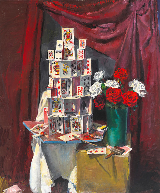 , 'Painting the Roses Red,' 2016, OLSEN GALLERY