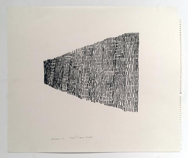 , 'Fast Track Wall,' 1977, Hal Bromm