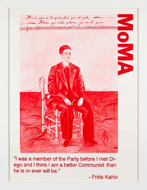 Yevgeniy Fiks, 'Communist Tour of MoMA (Frida Kahlo)', 2010, Winkleman Gallery