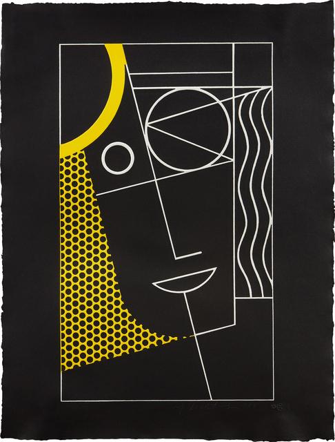 Roy Lichtenstein, 'Modern Head #2 from Modern Head series', 1970, Hamilton-Selway Fine Art