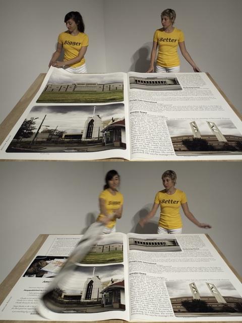 , 'American Megazine #3,' 2013, Mona Bismarck American Center